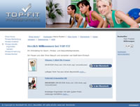 Beispiel Top-Fit Online Shop